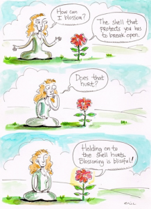 How can I blossom