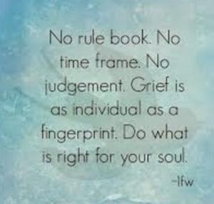 No rule book